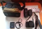 Canon 600D + 18-55 Lens + 75-300 Lens + Garanti