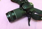 Cok temiz canon 550d 75 300 lens