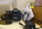Nikon D810 Full Frame body ve 50 mm f/1.8 lens