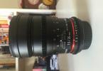 35 mm samyang cine lens