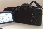 2. El Canon 600D Sadece 6k Shutterda