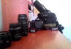 Çok temiz.. Canon 1200d ( 3 lens ve daha fazlası..)