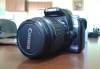 Canon 450 d ve 430 ex flash canta ve kutulu