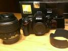 Nikon 5100 body 18-55 vr lens