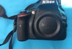 SORUNSUZ ACIL SATILIK NIKON D5200 - 50mm ve 18-105 LENSLE