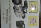 Raynox DCR-2020PRO 2.2X Pro-Telephoto Conversion Lens