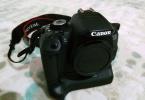 Canon 650D Body+BatteryGrip+Ekstralar