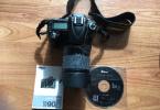 Nikon D90 18-105 lens Orjinal Kutulu Çanta Hediyeli