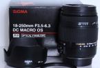 Canon Uyumlu Sigma 18-250mm f/3.5-6.3 DC Macro OS HSM Lens + UV / ND400 / Polarize filtre