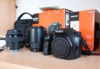 Sony A58 Full Set Tertemiz