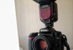 [Fiyat Düştü] Nikon D90 Set (18-105 + 50 mm f/1.8 + Flaş + Tripod + Çanta vs.)