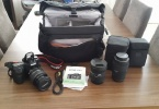 CANON EOS 50D+EFS 17-85mm+SİGMA DG 10-20mm+SİGMA APO DG 70-300mm