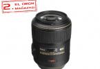 Nikon 105mm f/2.8G Lens