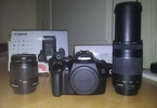 6k Da 75-300 Ve 18 55 lensli Cok temiz Canon 1100d