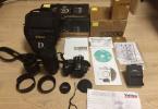 Nikon D3200 12 ay garantili...Full KUTU