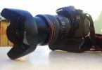 Canon eos 60 D ve 24 105 lens çok temizz