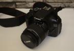 Siyah canon EOS 1100D