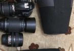 Nikon D5000 FOTOĞRAF MAKİNESİ+18-70 LENS+70-300 LENS+18-55 LENS
