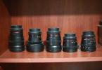 Canon ef uyumlu samyang cine lens seti 14mm f3.1 24 35 50 85 mm T1.5 Takasa açıktır