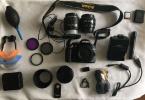 Nikon D3200 | Garantisi Devam Ediyor | Tüm Ekipmanlarla Birlikte