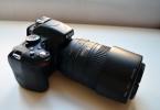 Nikon D5100 55-300mm kit lens