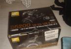 Nikon 5200 18 55 dx vr kit2