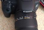 Canon 700D + Sigma 17-50mm. f/2.8 EX DC OS HSM + 50mm STM Set