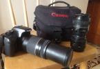 Canon eos 1100D 3 lens