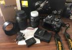 Nikon D3100 18 55 - 55 200 VR kit Lens