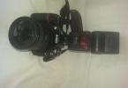 nikon d300 body+SB 600 flash+nikon 18-200 lens +fot.mak.cantasi