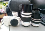 Samsung nx1100 Çift lens İle Birlikte