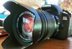 Canon 650D + 18-250 HSM Lens