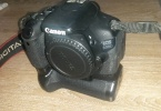 canon 600D body + battery grip + orjinal kutu