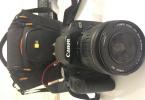 Az kullanılmış,sıfır niteliğinde Canon 500D
