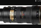 Nikon 70-200 VR 1 f:2.8 Bir kez kullanıldı. Dubai den geldi sıfır ayarında