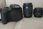 03.01.2017 Fatura Tarihli Canon Eos 750D + 18-55mm STM + 50mm STM Nakit ihtiyacından dolayı Satıyorum.
