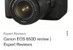 Canon esi 650d