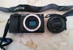 sony a 6000 + 16-50 mm e mount lens   ve diğer lensler