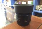 SIFIR AYARINDA TERTEMİZ CANON 50 mm f1.8 Lens