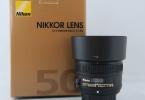Nikon 50 mm 1,8 G alınır