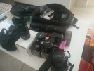 Satilik canon 650d+6 lens
