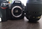 Nikon D90 18-105 filreler ve cantasiyla