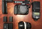 Canon 7D mark 2- Canon 18-135mm Lens-orijinal batery grip-2adet pil-flaş-Full frame geçtiğim için satıyorum.
