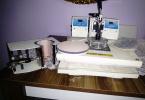 Sublimasyon Transfer Combi Makinesi ve epson l130 sublimasyon baskı cihazı