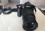 Nikon D90 18-105 Vr lens kit. çok az kullanılmıştır shutter 1740 (binyediyüzkırk) 20.04.2017 tarihinde ölçüldü