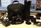 Nikon d90 Çift objektif ''SHUTTER 26K''