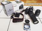 Canon 1100D ve Ekipmanlar
