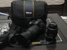 Nikon D3100 VR 18-55 VR 55-200