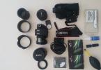 Komple Set Halinde Canon 760D