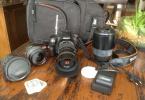 Sony alpha 290 + 4 lens